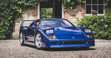 Siêu xe Ferrari F40 nổi tiếng nhất Anh quốc có giá kỷ lục 31,9 tỷ đồng