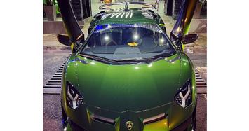 Siêu xe Lamborghini Aventador SVJ Verde Ermes giá hơn 20 tỷ ở Sài Gòn