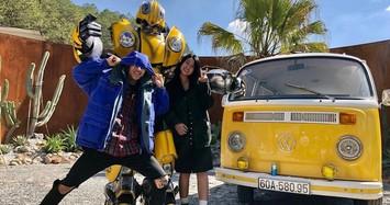 Soi gu thời trang cực chất của rapper Dế Choắt và bạn gái