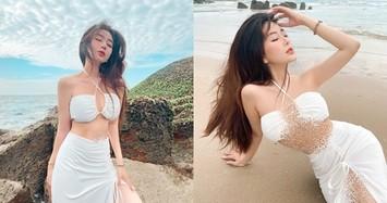 Hotgirl Sài Gòn khoe dáng nóng rực