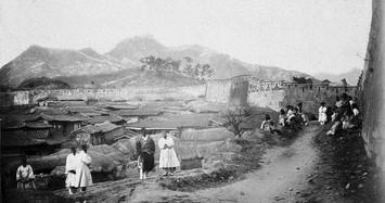 Loạt ảnh quý hiếm về thủ đô Hàn Quốc cuối thế kỷ 19