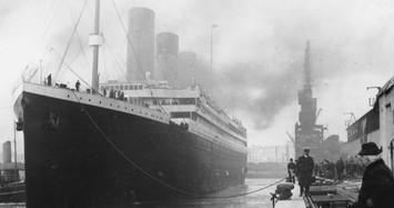 Loạt ảnh hiếm tàu Titanic huyền thoại trước khi gặp nạn