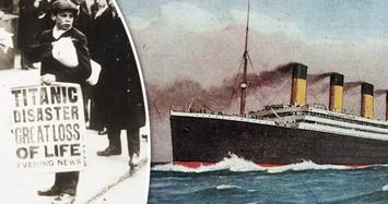 Những con số gây sốc trong thảm họa chìm tàu Titanic