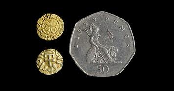 Điều đặc biệt ở đồng xu vàng gần 1.500 tuổi siêu hiếm ở Anh