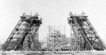 Ảnh độc quá trình thi công tháp Eiffel nổi tiếng nước Pháp