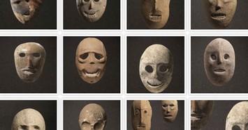 Những mặt nạ đá bí ẩn có niên đại 9.000 năm tuổi