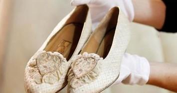 Bí mật thú vị về đôi giày cưới của Công nương Diana