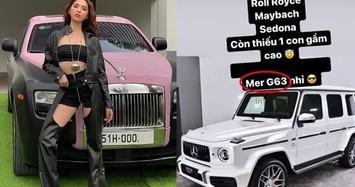 Ngọc Trinh gây choáng bên Mercedes-AMG G63 Brabus hơn 10 tỷ