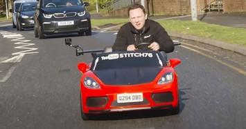 Thú vị xe ôtô đồ chơi đầu tiên trên thế giới hợp pháp xuống phố