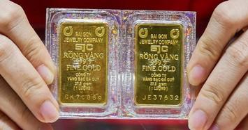 Giá vàng ngày 15/8 neo ở mức gần 57 triệu đồng/lượng