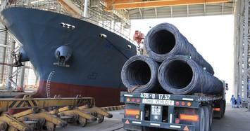 Xuất khẩu thép trong tháng 10 của Hoà Phát đạt 62.000 tấn