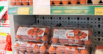 Trứng gà Hòa Phát đã vào hàng loạt siêu thị, sắp nhập 7.500 gà giống từ Úc