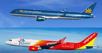 Cổ phiếu Vietnam Airlines phi mã khi được SCIC giải ngân, Vietjet quay đầu