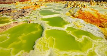 Tiết lộ bất ngờ về miệng núi lửa Dallol: Có nước nhưng không có sự sống