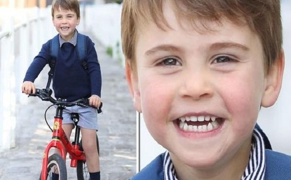 Những khoảnh khắc đáng yêu của Hoàng tử Louis vừa tròn 3 tuổi