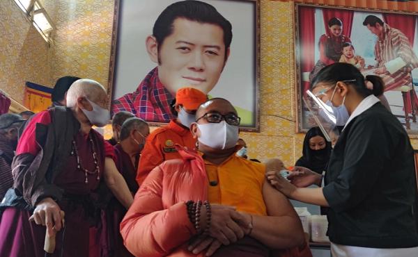 Bhutan đã tiêm mũi vaccine COVID-19 thứ 2 cho hầu hết người trưởng thành