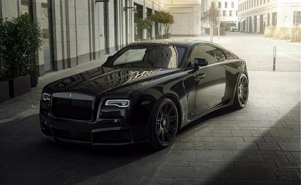 Ngắm xe siêu sang Rolls-Royce Wraith Black Badge siêu đẹp