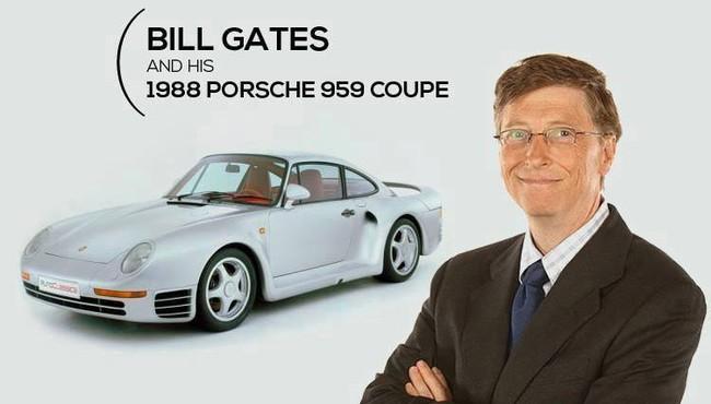 Tỷ phú Bill Gates thích thương hiệu xe siêu sang nào nhất?