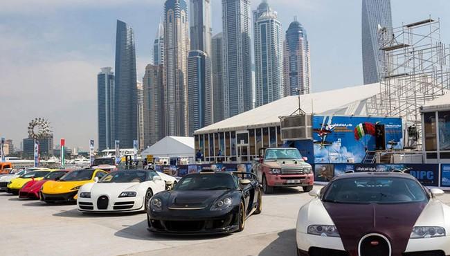 Siêu xe nhiều như lợn con ở Dubai