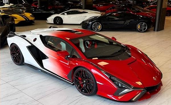Cận cảnh Lamborghini Sian hybrid giá hơn 82 tỷ đồng