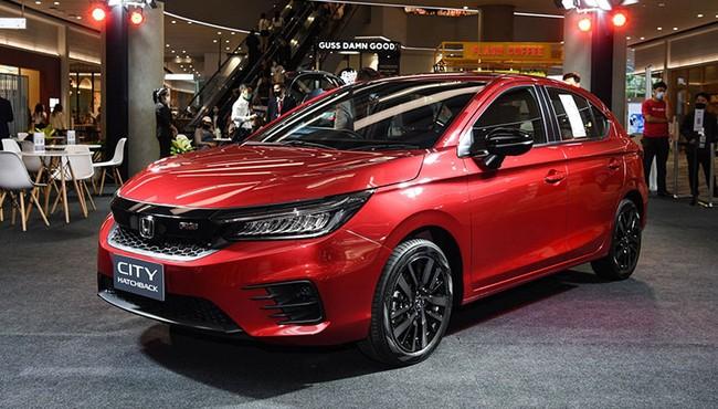 Cận cảnh Honda City Hatchback đối thủ của Toyota Yaris