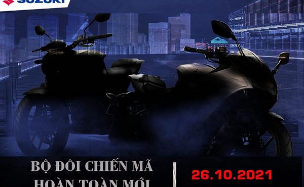 Bộ đôi môtô thể thao của Suzuki sắp ra mắt thị trường Việt Nam