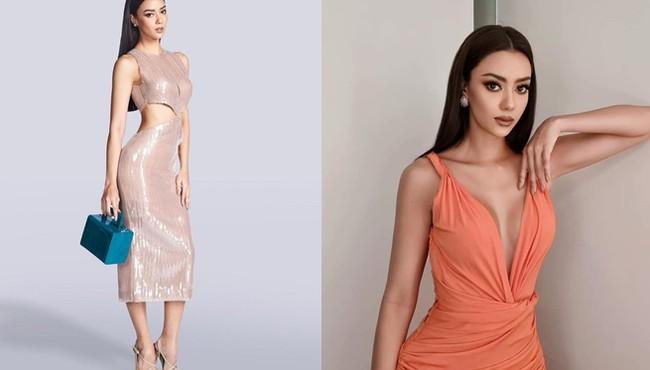 Hoa hậu Thái Lan khoe dáng sexy ở Hoa hậu Hoàn vũ Thế giới