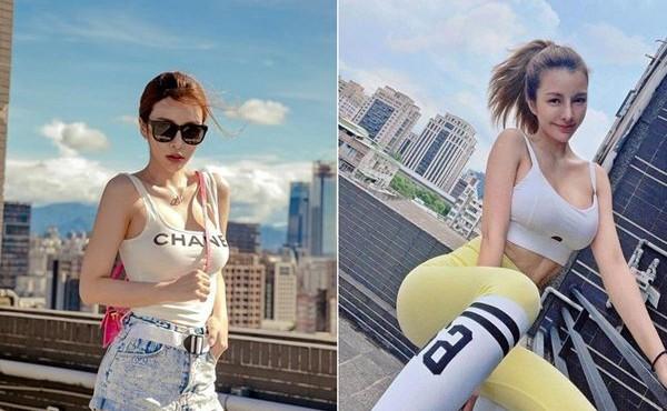 Hot girl ngực khủng khiến fan hoa mắt dù chỉ diện đồ tập thể thao