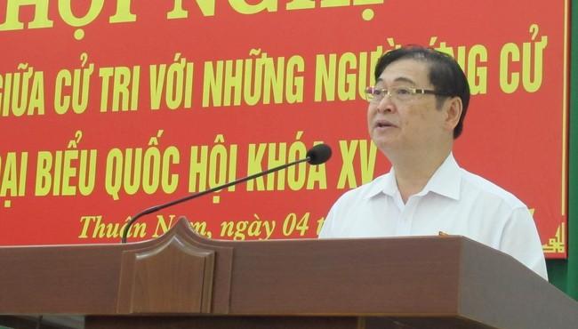 Hình ảnh ngày đầu tiếp xúc cử tri của ứng viên ĐBQH - Chủ tịch VUSTA Phan Xuân Dũng