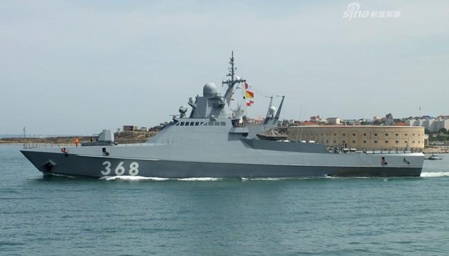 Khám phá sức mạnh của tàu tuần tra cỡ nhỏ mang tên lửa của Nga