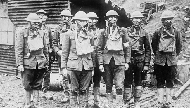 Thứ vũ khí gây khiếp đảm nhất trên chiến trường Thế chiến 1
