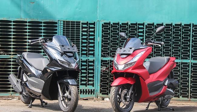 Ngắm Honda PCX 160 đầu tiên về Việt Nam giá hơn 80 triệu đồng?