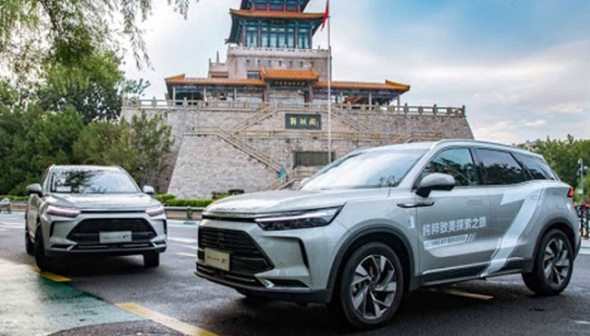 Lượng xe Beijing X7 bán ra tại Trung Quốc giảm mạnh