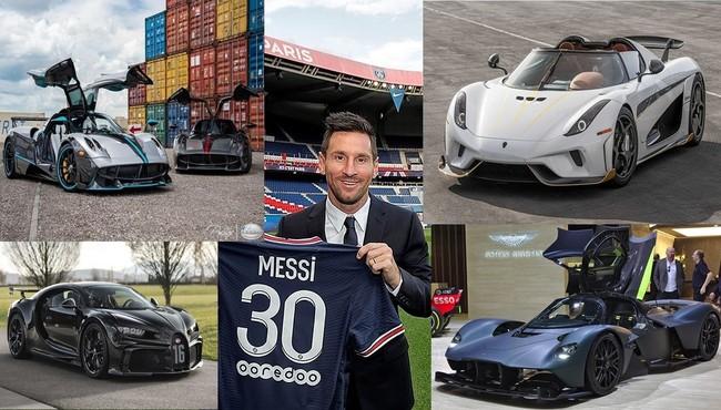 Siêu sao Lionel Messi nhận lương hơn 1 nghìn tỷ đồng mỗi năm