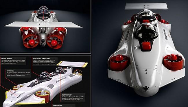 Chi tiết tàu ngầm DeepFlight hơn 34 tỷ của giới siêu giàu