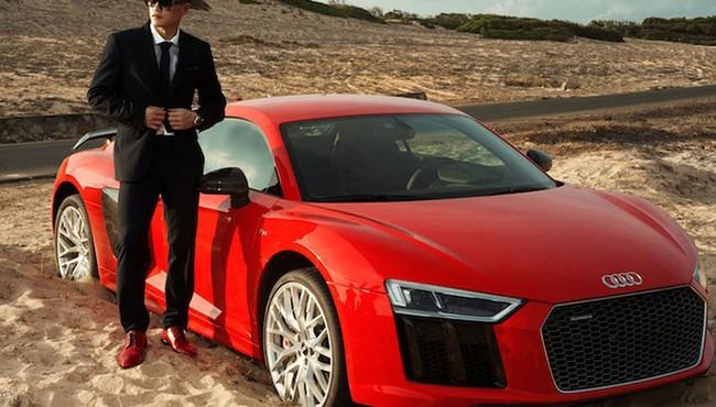 Cận cảnh Audi R8 giá hơn 13 tỷ đồng của vợ chồng Công Vinh