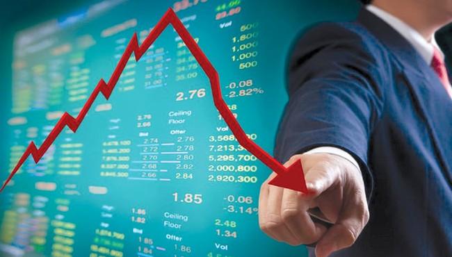 Lực bán mạnh xuất hiện cuối phiên khiến VN-Index giảm gần 5 điểm