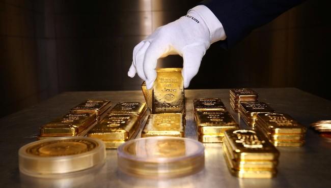 Giá vàng thế giới hôm nay tăng nhẹ, trong nước 55 triệu đồng/lượng