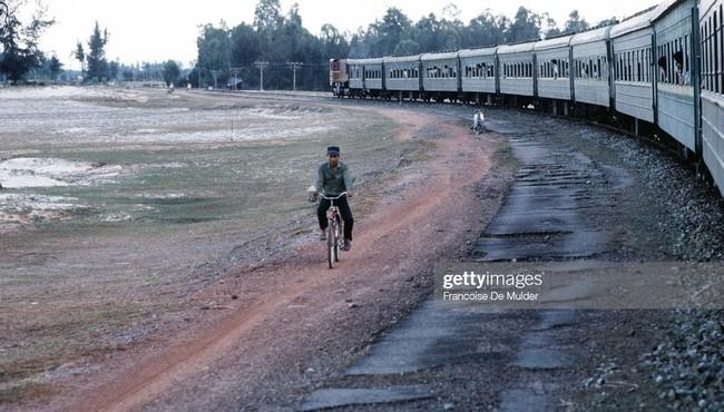 Đường sắt Việt Nam 30 năm trước qua ống kính người Pháp