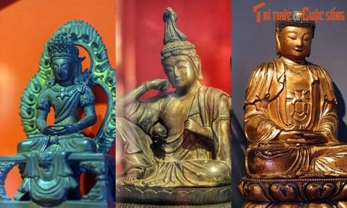 Bộ tượng Phật cổ đẳng cấp quốc tế ở Sài Gòn