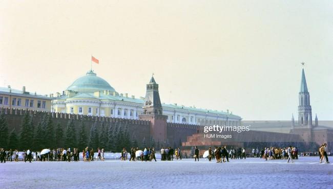 'Trái tim' nước Nga qua loạt ảnh năm 1972