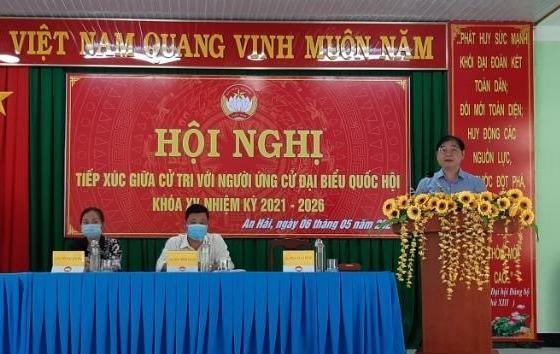 Ngày 3 TXCT huyện Ninh Phước của ĐV bầu cử số 2: 4 ứng viên ĐBQH và TSKH Phan Xuân Dũng thuyết trình gì?