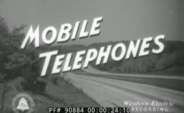 Chân dung chiếc điện thoại di động đầu tiên