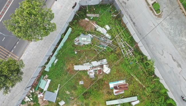 Cận cảnh bãi đất trống Diamond Central A của Gotec Land chào bán trái phép