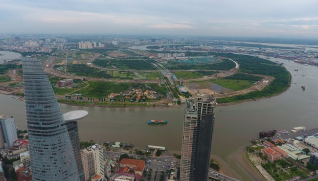 TP HCM điều chỉnh quy hoạch 1/2.000 khu kế cận đô thị Thủ Thiêm để bán đấu giá 30 ha đất