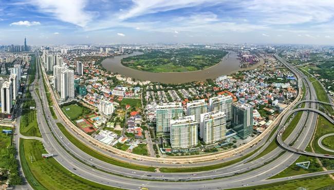 Nhà đất quận 7 tăng giá cao nhất tại TP HCM trong quý II