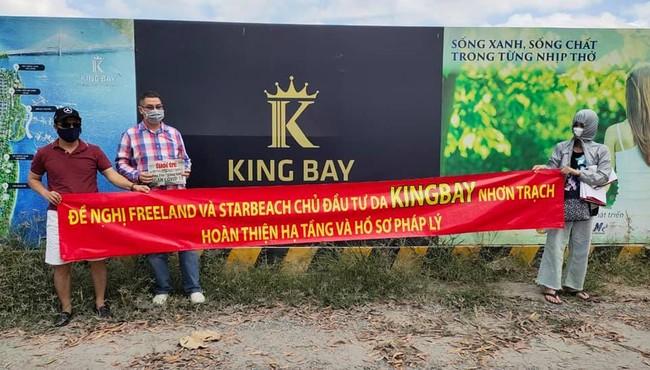 Đồng Nai chuyển đơn của 92 công dân tố chủ đầu tư King Bay đến Công an TP HCM