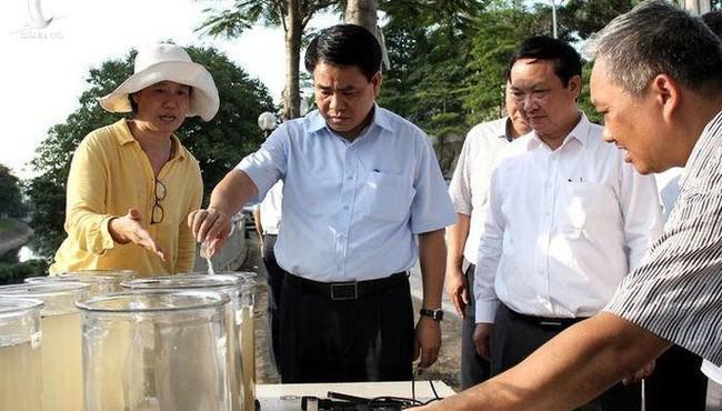 Tổng Giám đốc công ty thoát nước mang tiền nhà tạm ứng cho công ty gia đình ông Nguyễn Đức Chung