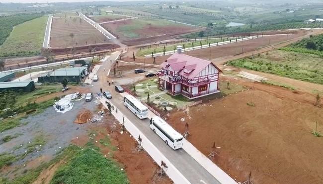 Kiến nghị chuyển cơ quan điều tra các dự án phân lô bán nền ở Lâm Đồng