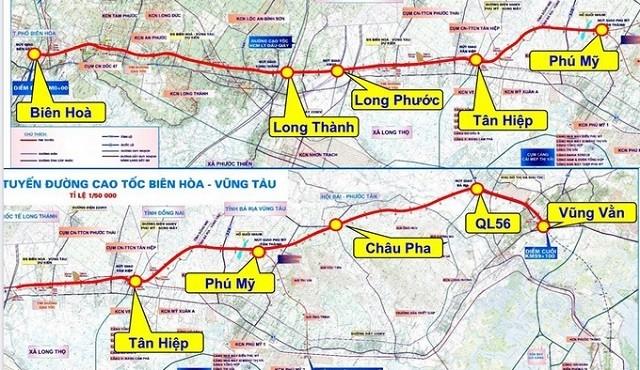 Đề nghị Bộ Giao thông Vận tải là cơ quan có thẩm quyền làm cao tốc Biên Hòa - Vũng Tàu